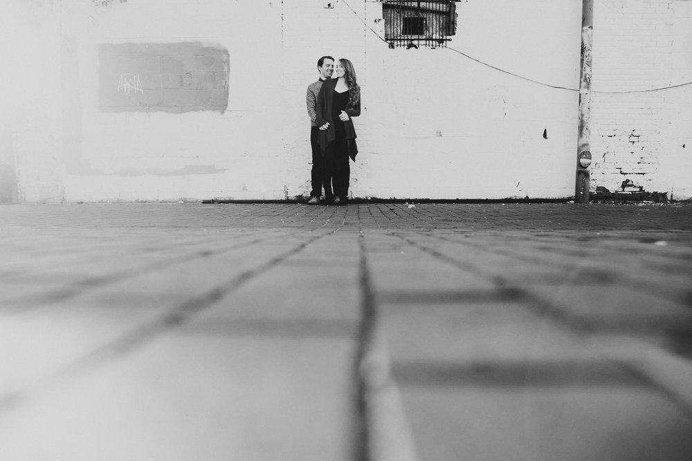 Creative Fun Blagden Alley engagement session