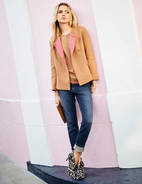 Boden's Ella jacket and Alexis boot