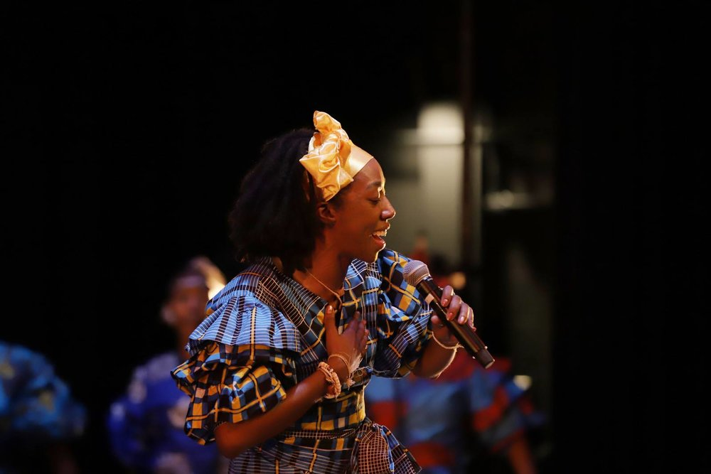 October 4th:West African vocal/song workshop - 8-10 PMLead Singer for world-renown West African Drum and Dance Company Farafina Kan in Washington D.C., Lesina Martin will teach Africa in America's first West African Vocal/Song workshop . All participants will be able to keep a song list and lyrics from these songs.