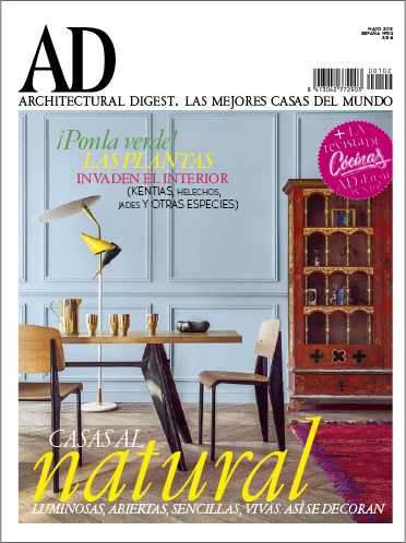 ARCHITECTURAL DIGEST, AD Spain, Issue 102, May 2015.