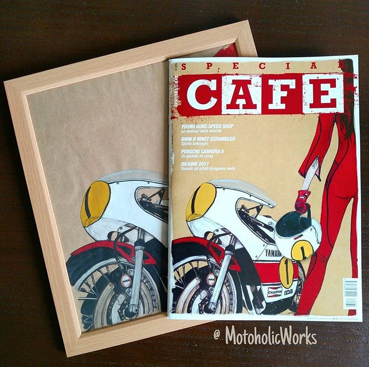 Great feature on Oil&Ink in Italian magazine Special Cafe including the cover art! http://www.specialcafe.it/negozio/