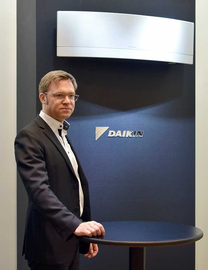 Presentation of Daikin UX to be launched in Japan in Autumn 2016