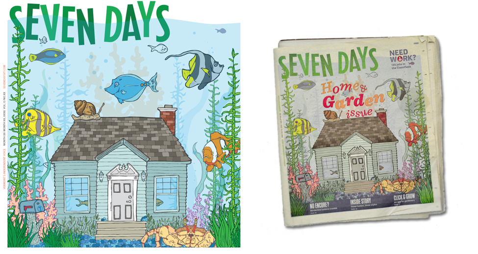 Cover Design For Seven Days