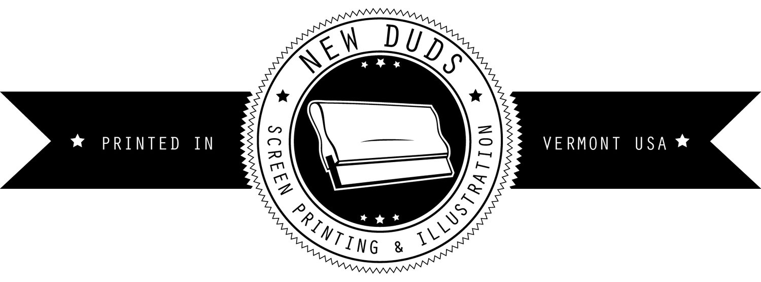 New Duds Screen Printing | Custom Printing | Vermont