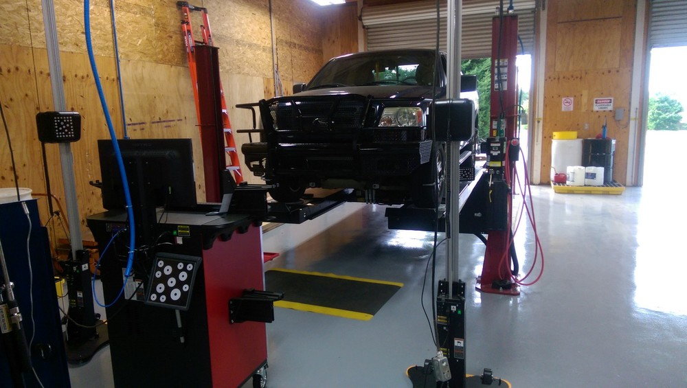 When adding an additional 200 plus pounds to the front of your vehicle, we recommend performing a wheel alignment to make sure any changes in ride height can be adjusted and compensated for to prevent any possible abnormal tire wear.