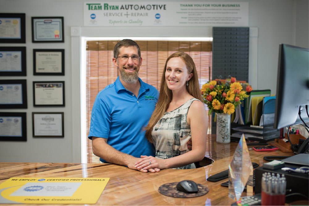 The Ryan's have a strong moral compass and with that comes not only exceptional customer service but also a dedication to the environment.  We're the green team when it comes to car repairs.