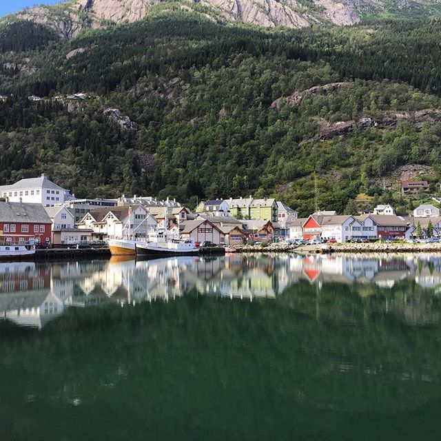 The town of Odda.