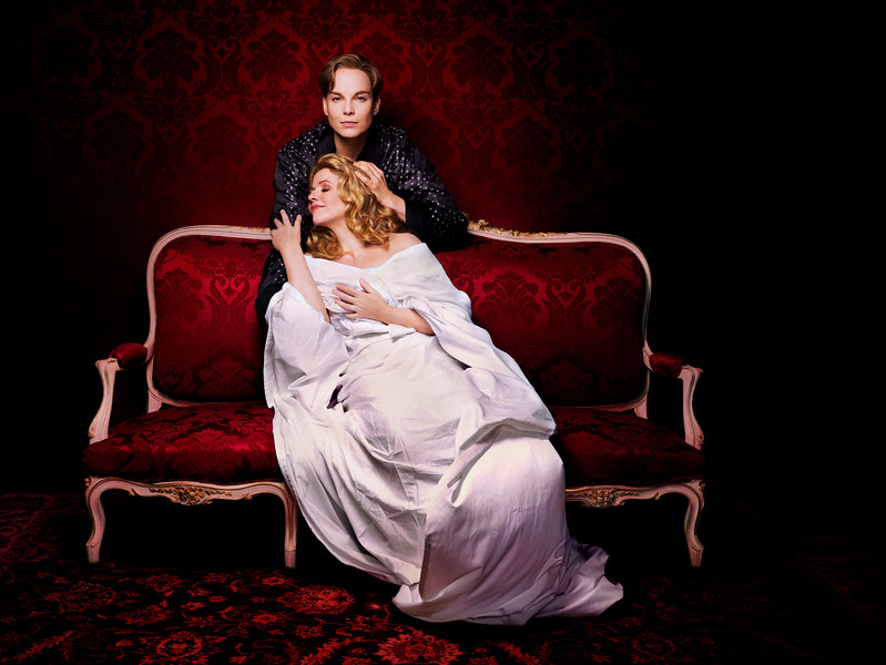 Renée Fleming as the Marschallin, one of her signature roles, Elina Garanča as Octavian