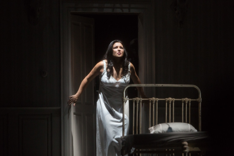 Anna Netrebko as the blind Iolanta