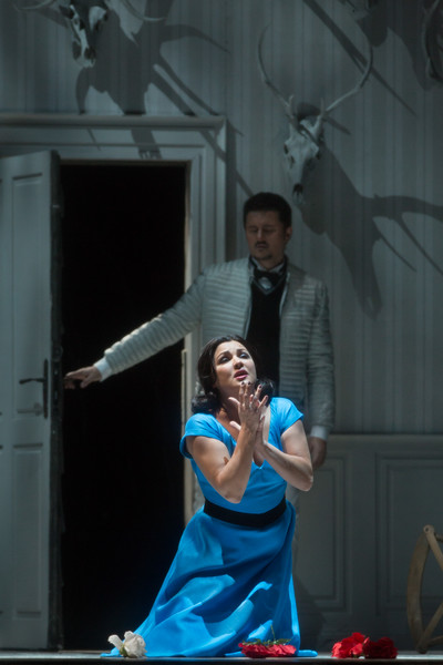 Anna Netrebko and Piotr Becala in  Iolanta