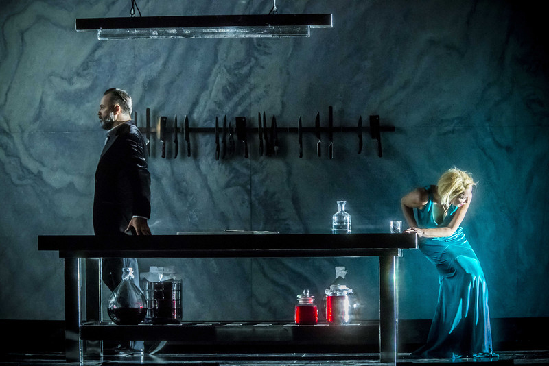 Mikhail Petrenko is Bluebeard with Nadja Michael as Judith