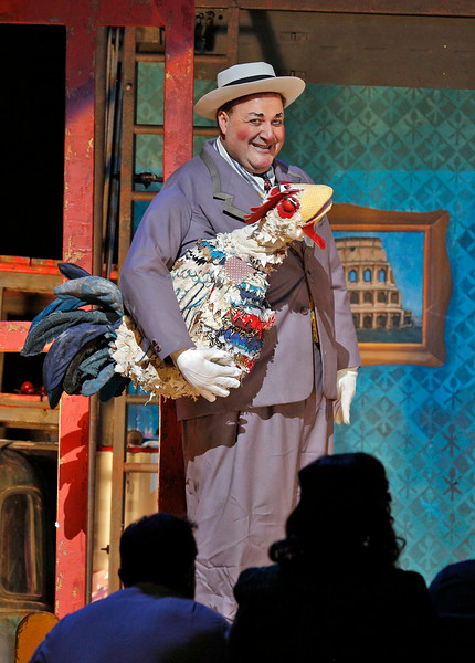 George Gagnidze is Tonio in Pagliacci