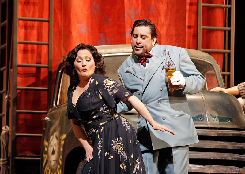 Patricia Racette and Marcello Alvarez in Pagliacci
