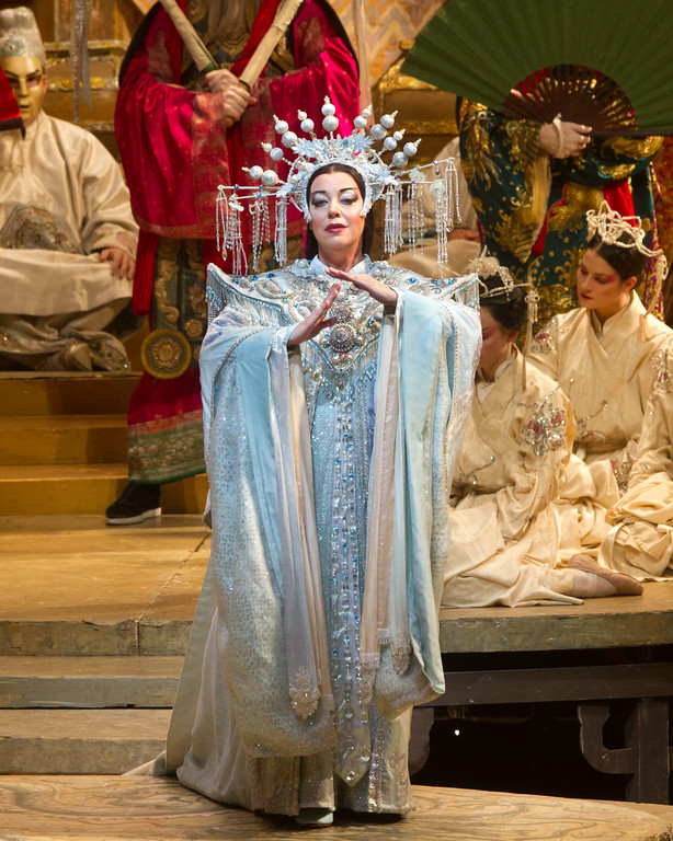 Nina Stemme as Princess Turandot