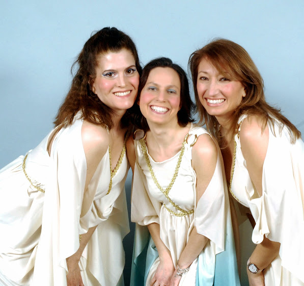 Deborah Connelly, Maria Jacobi, and Tammy Strom in Iolanthe