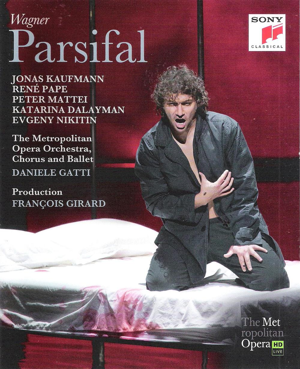 Jonas Kaufmann in the Met's 2013  Parsifal