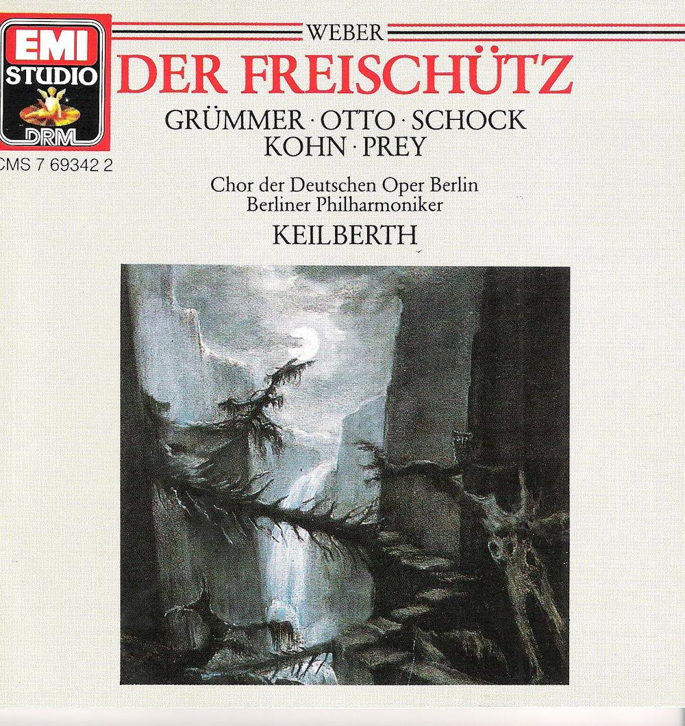 Another fine recording of  Der Freischütz  from Joseph Keilberth