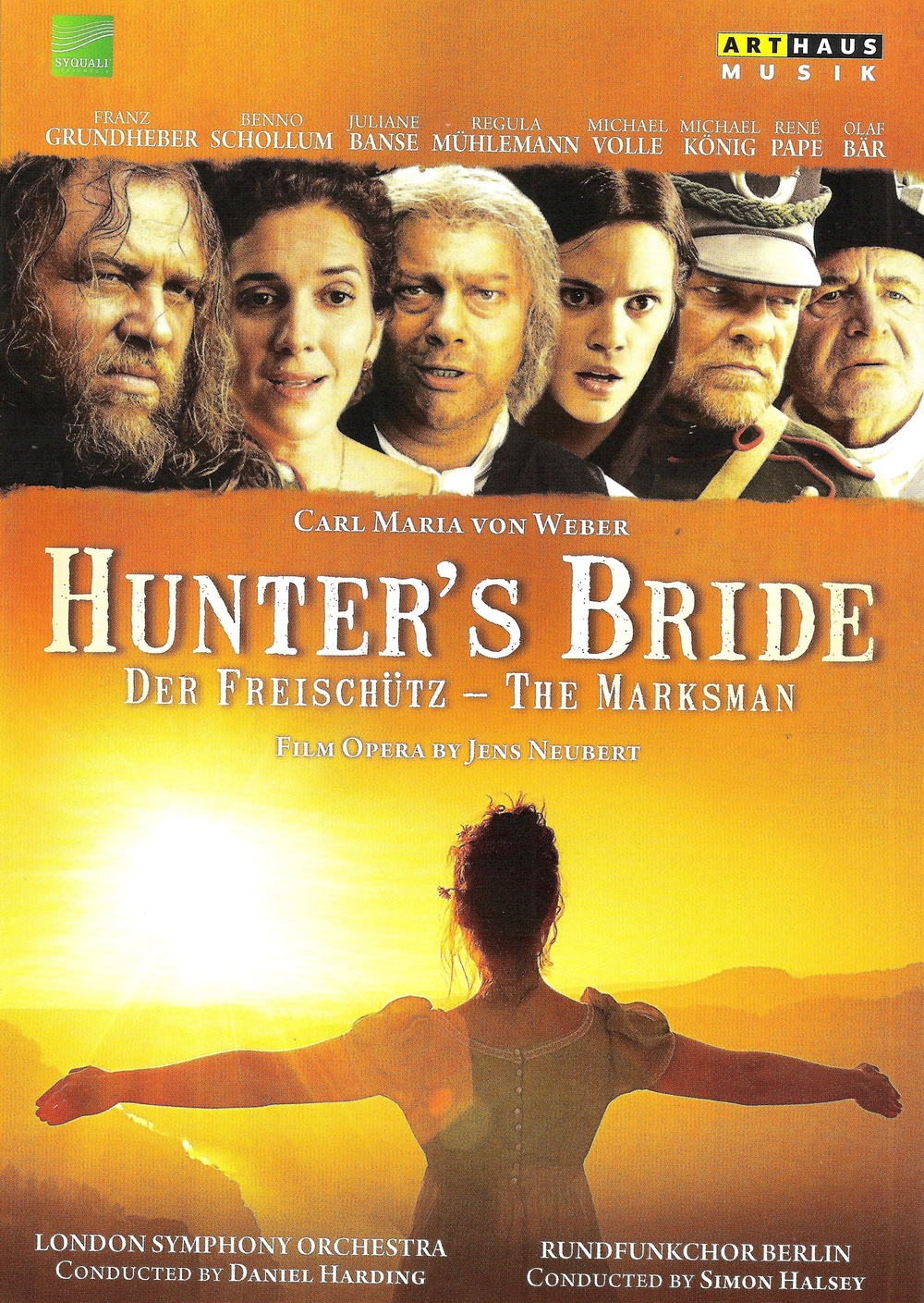 The Hunter's Bride, Der Freischütz on film.