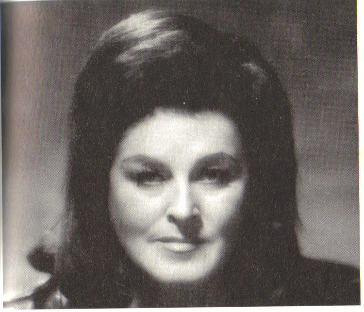 The great Birgit Nilsson as Isolde, circa 1966