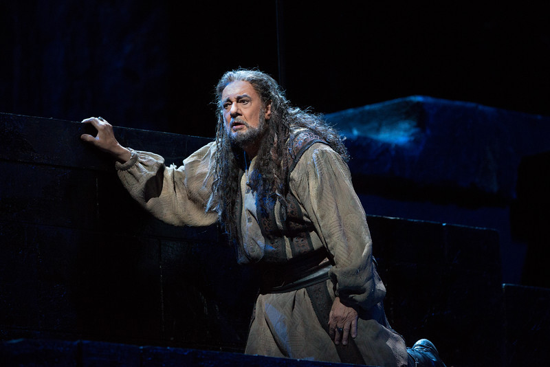 Placido Domingo is Nabucco