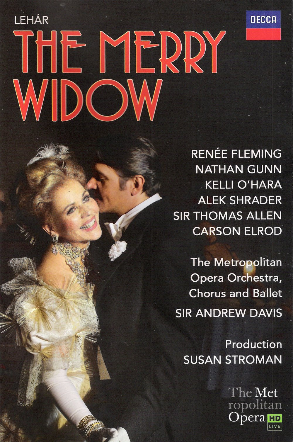 Fleming and Gunn star in the Met's The Merry Widow