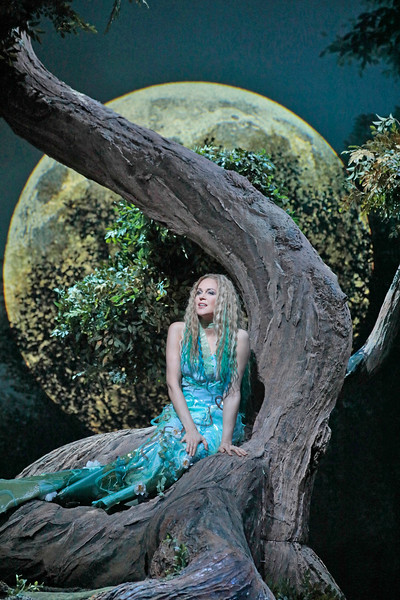 Kristine Opolais as Rusalka sings the Song to the Moon