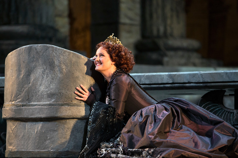 Elza van den Heever as Elettra in  Idomeneo