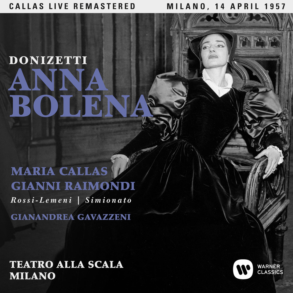 Callas at La Scala as Anna Bolena, April 14, 1957