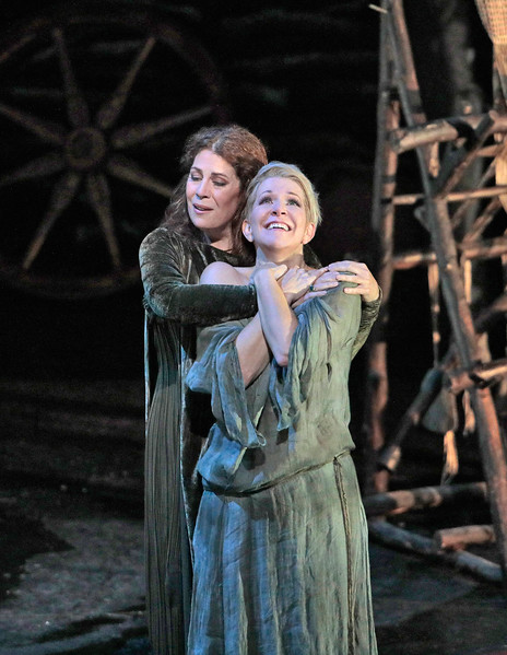 Norma and Adalgisa bond. Joyce DiDonato is Adalgisa