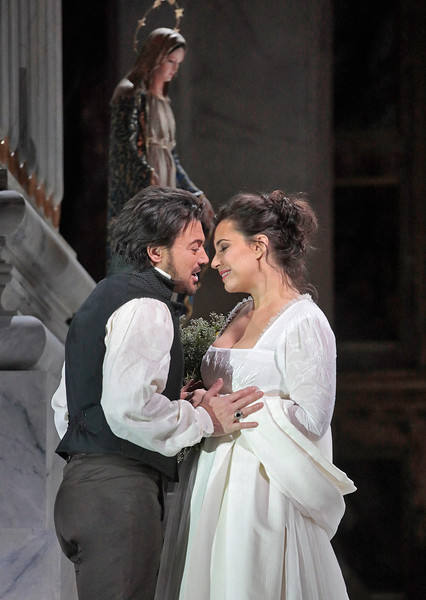 Vittorio Grigolo and Sonya Yoncheva in  Tosca