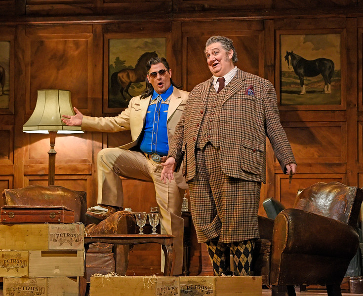 Ford, disguised as Fontana, approaches Falstaff with a deal