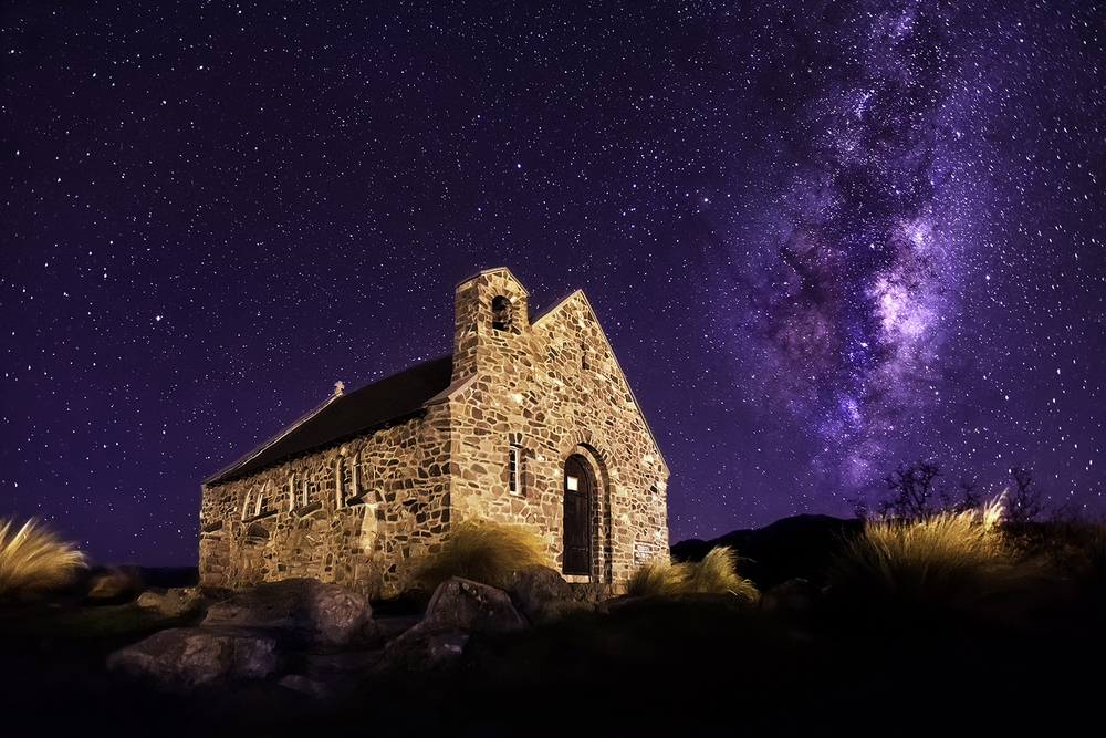 Church Of Good Shepherd, New Zealand.
