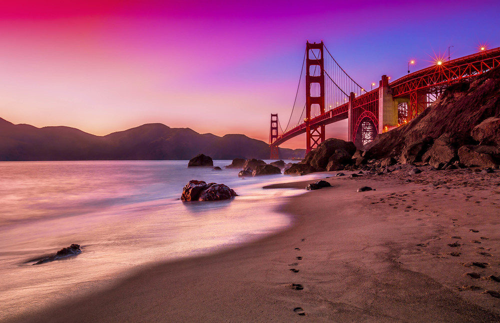 The Golden Gate Bridge, San Francisco. USA.