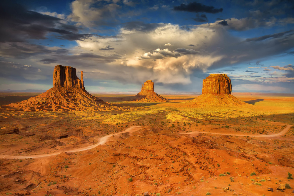 Monument Valley, Utah. USA.