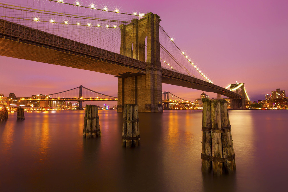 Brooklyn Bridge, New York City. USA.