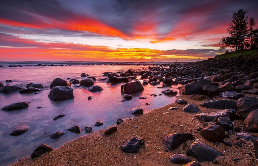 Burleigh Heads, QLD. Australia