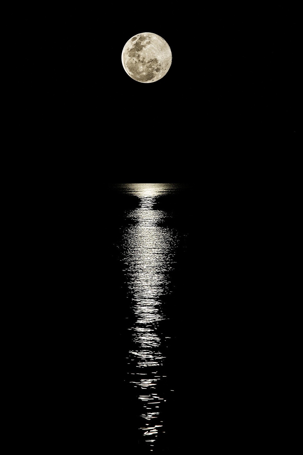 Super Moon, Gold Coast Seaway, Australia