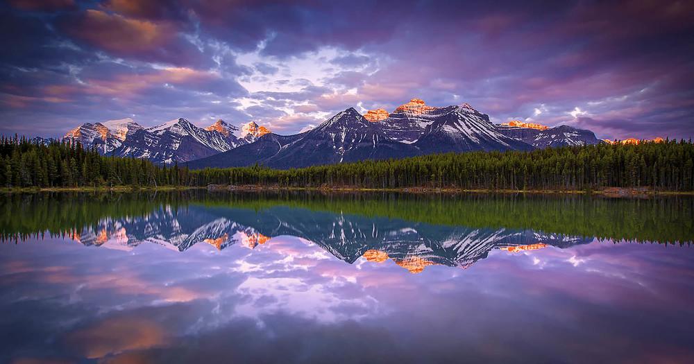 Herbert Lake, Alberta. Canada