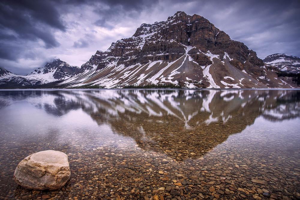 Bow Lake, Alberta. Canada