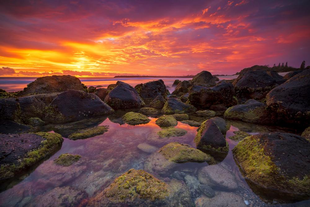 Duranbah, NSW. Australia