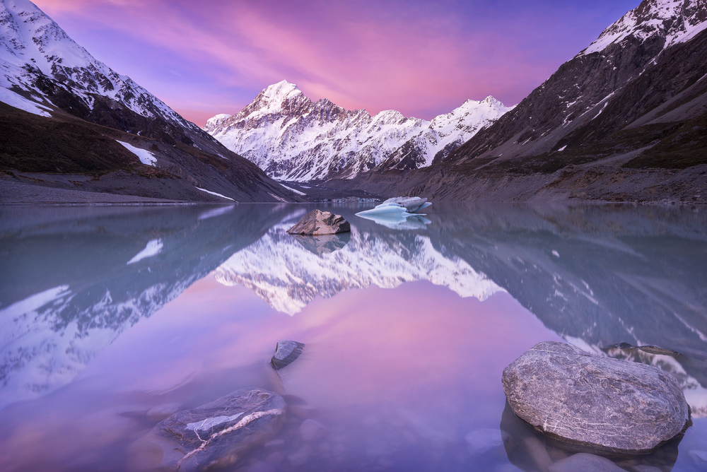 Aoraki / Mount Cook, New Zealand