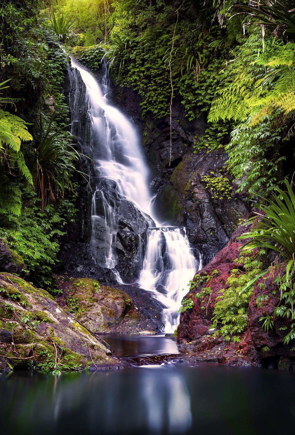 Upper Elabana Falls, Gold Coast Hinterland, Australia
