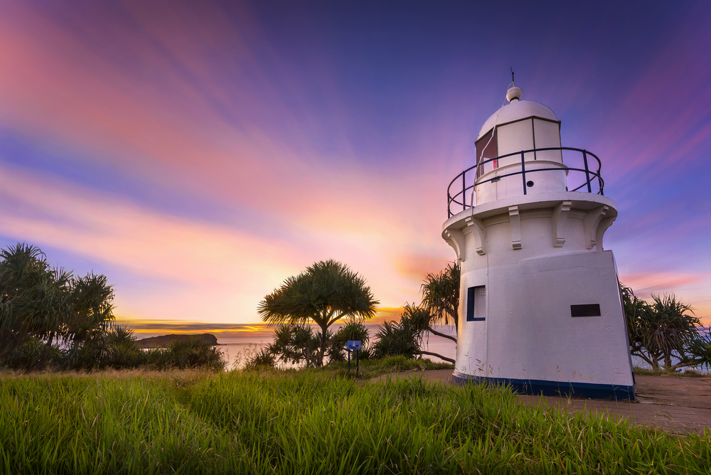 Fingal Head Lighthouse #1, NSW. Australia