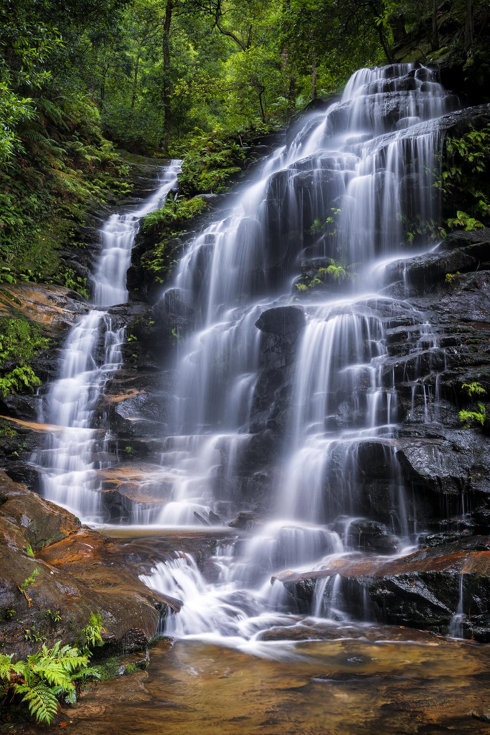 Sylvia Falls, NSW.