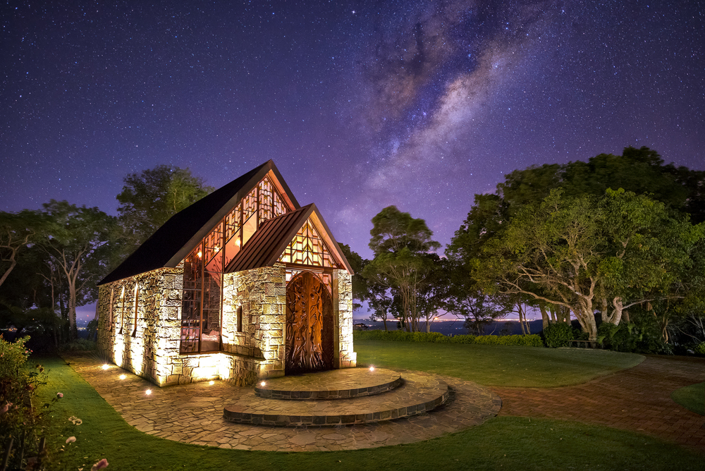 Montville. QLD, Australia.