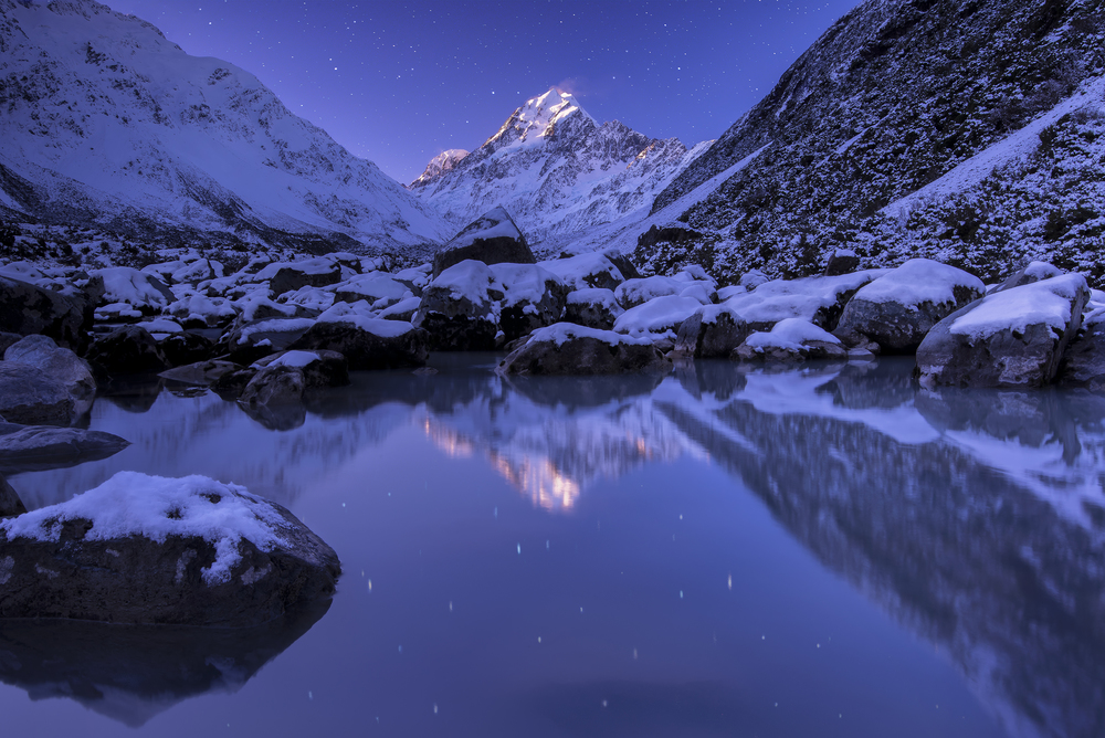 Aoraki / Mt Cook Stars, New Zealand