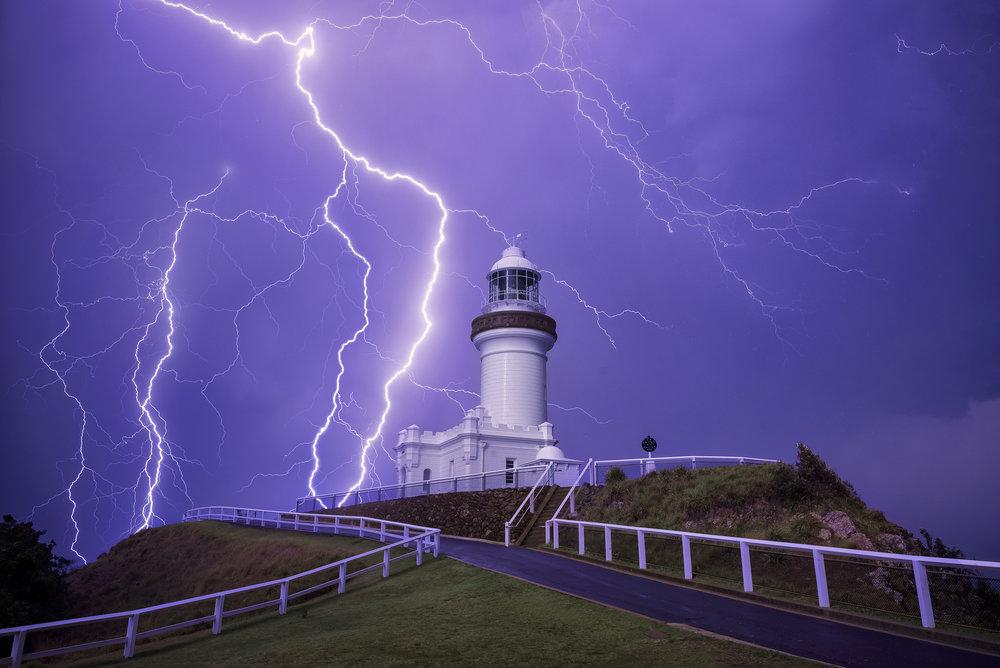 Byron Storm, NSW. Australia