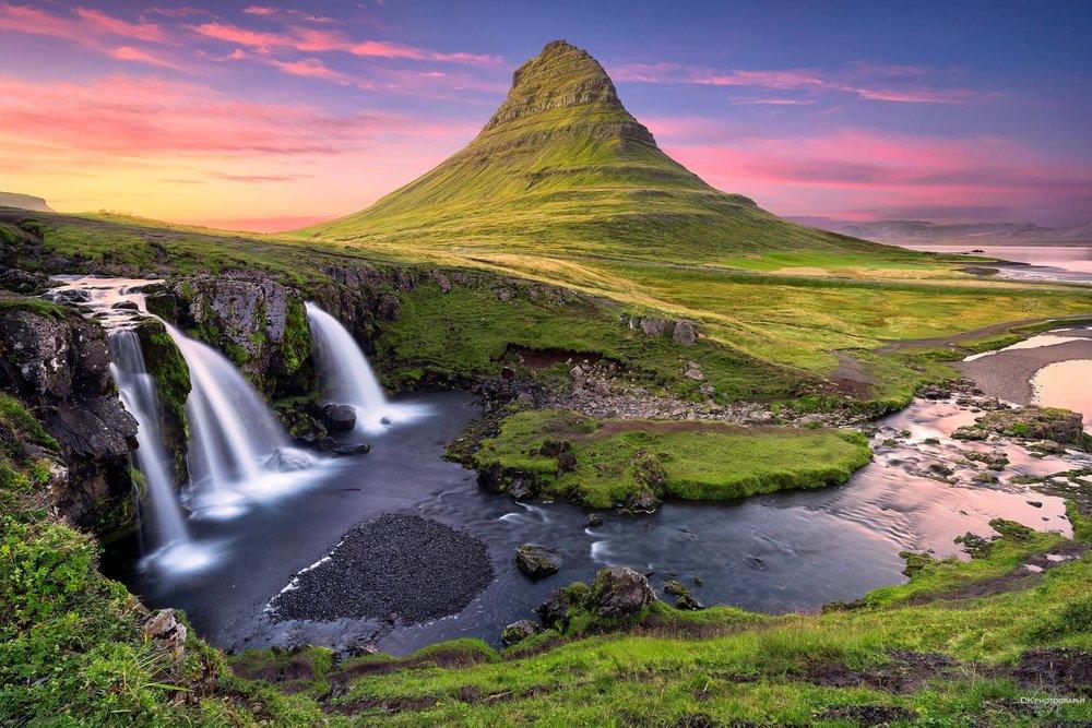 Kirkjufellfoss, Iceland.