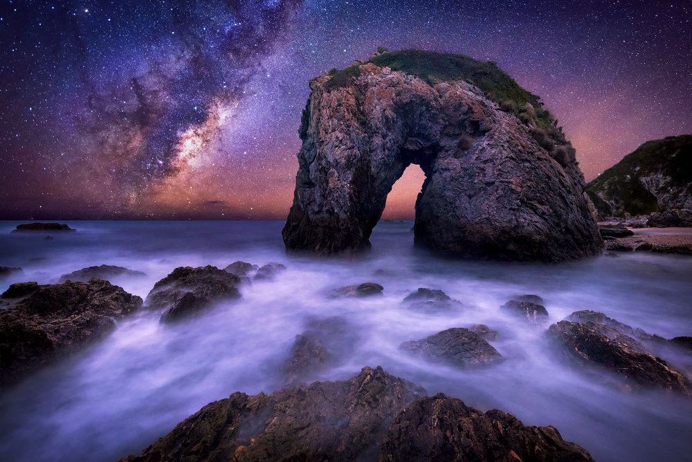 Horse Head Rock Milky Way, NSW