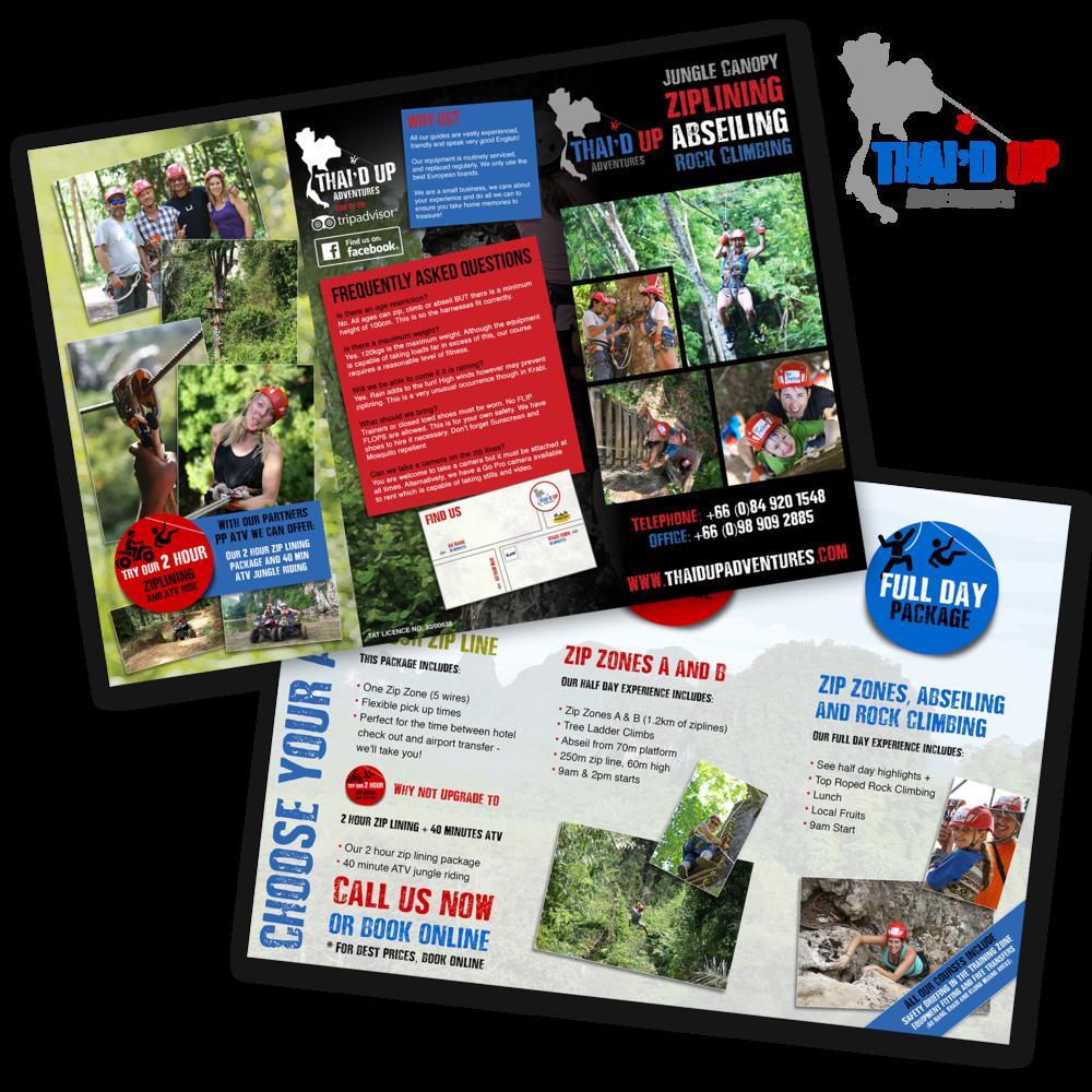 Thaid Up Adventures Brochure 2016/17